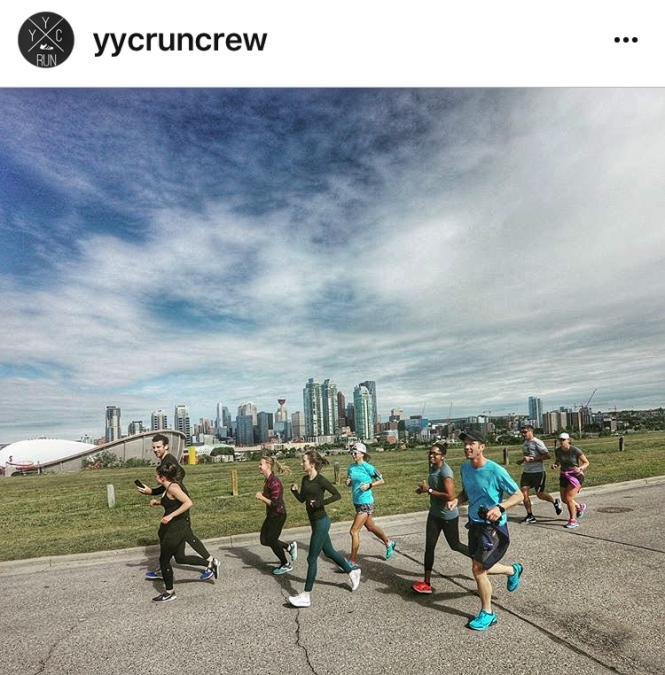 YYC Run Crew Sunday Calgary